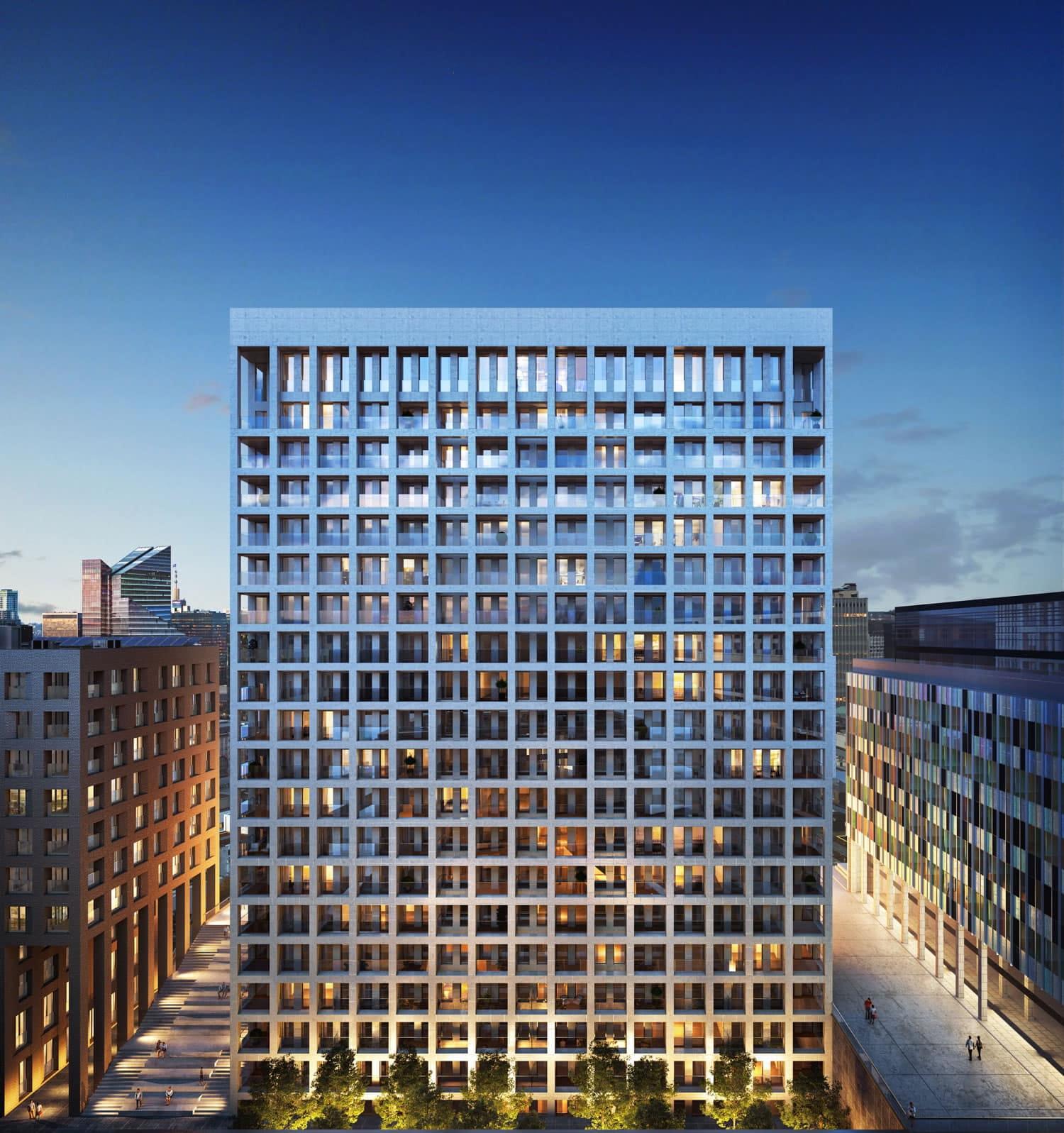 Investir dans un projet immobilier bruxellois d'allure internationale